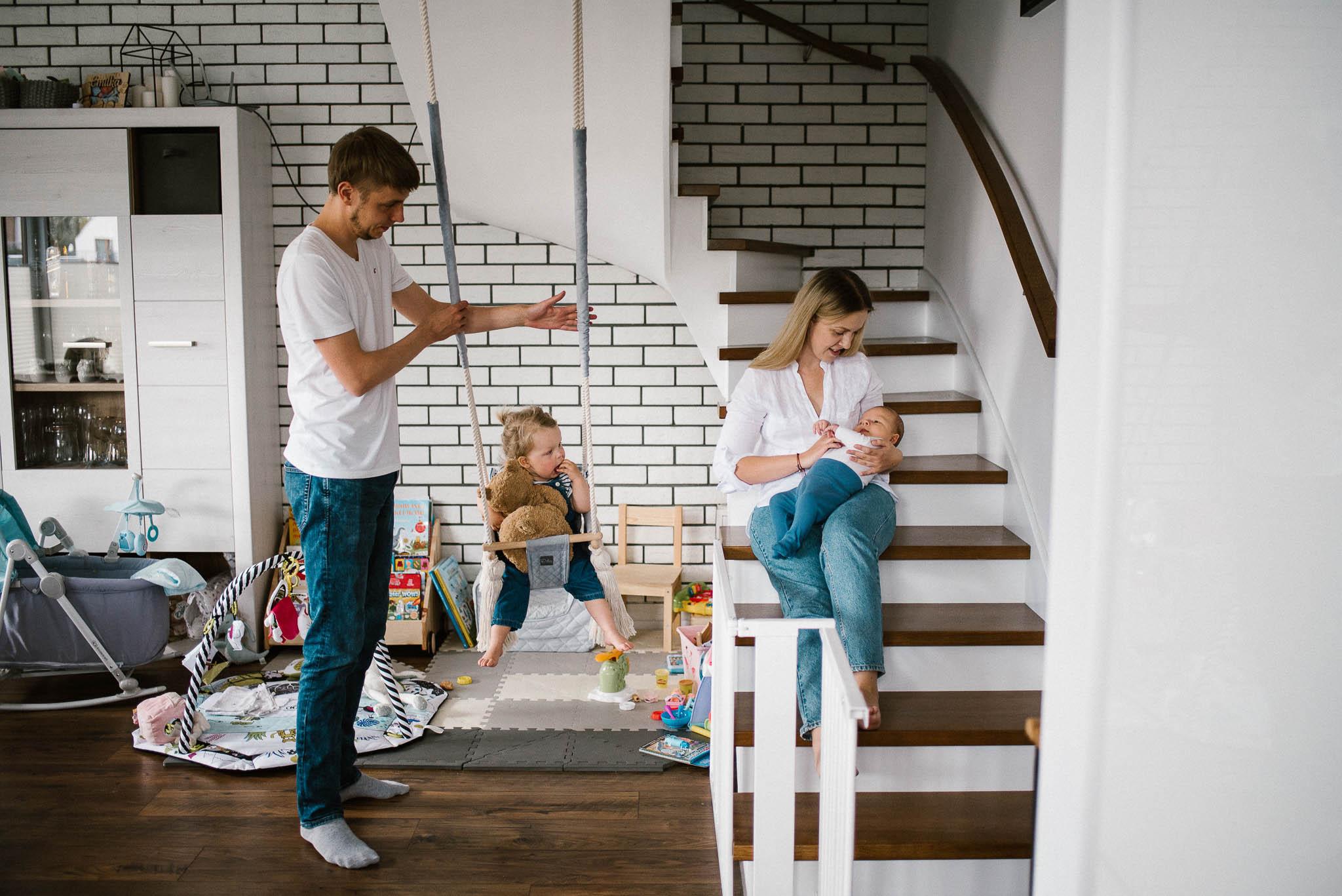 Przygotowanie mieszkania do sesji lifestyle
