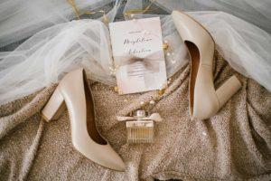 Buty ślubne - reportaż ze ślubu w Siedmiu Drzewach w Biskupicach