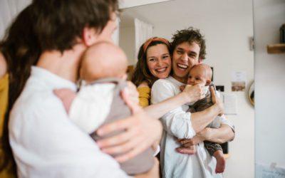 Sesja niemowlęca Bolka