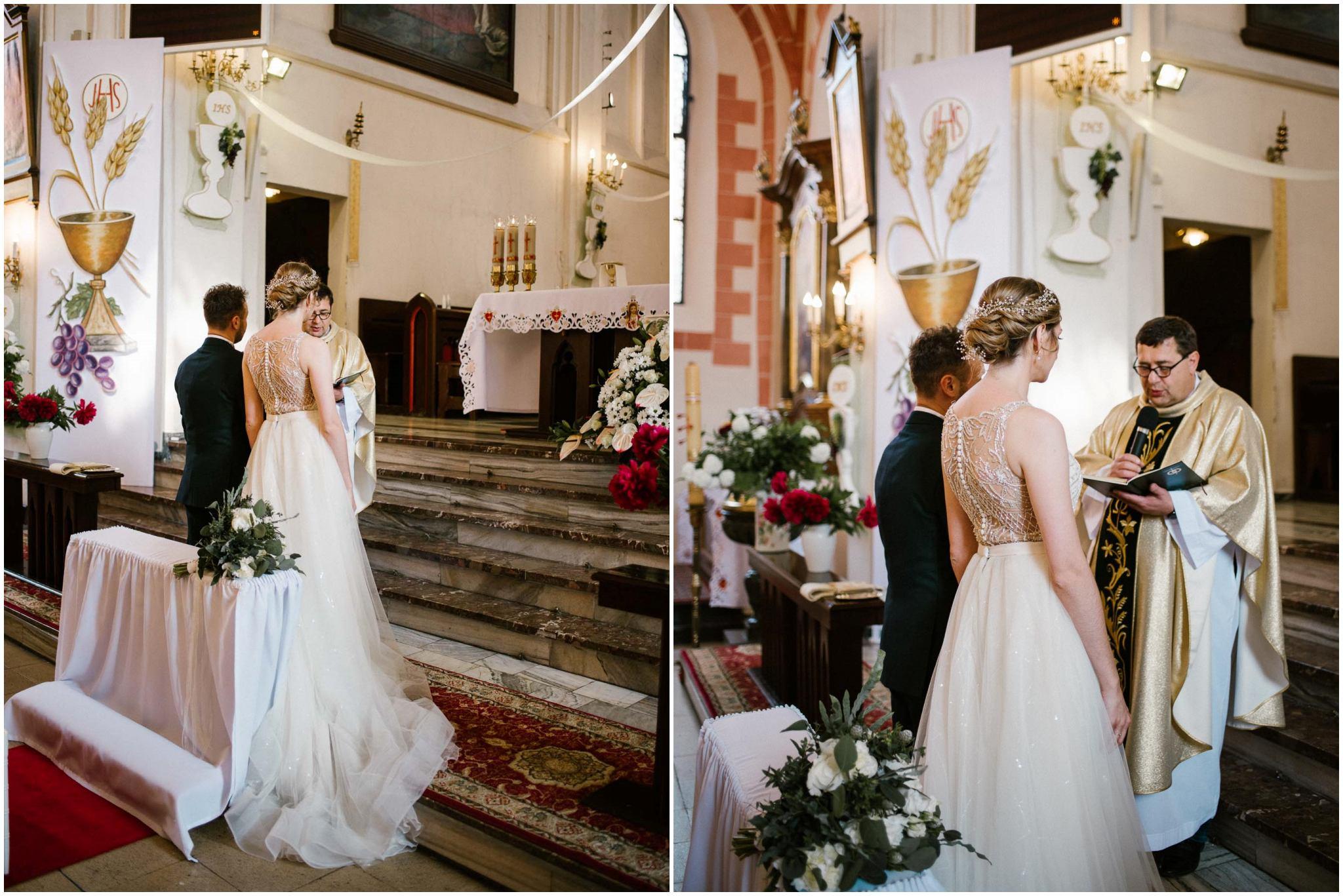 Przysięga małżeńska -  ślub w Stodole Bojanowo