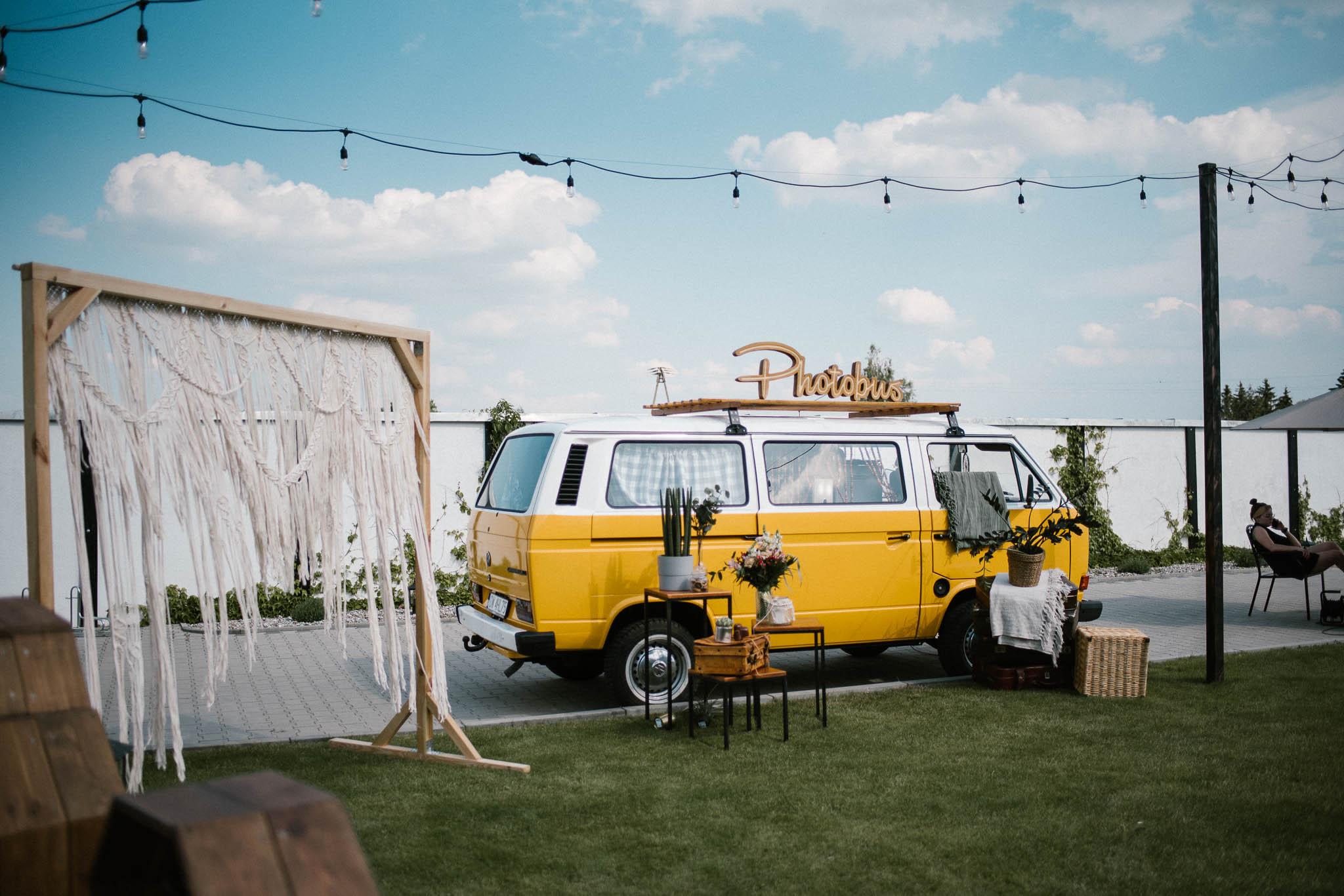 Photobus na weselu -  ślub w Stodole Bojanowo